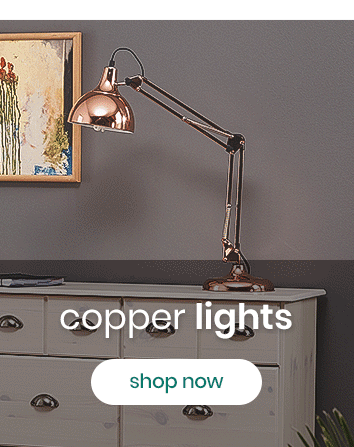 Lights by Finish: Copper Lights