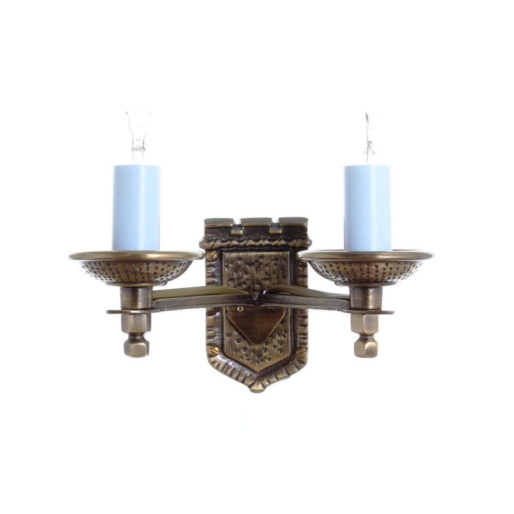 Impex Lighting Tudor Bronze Wall Light Leader Lights